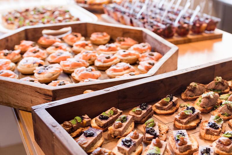 menu buffet funérailles