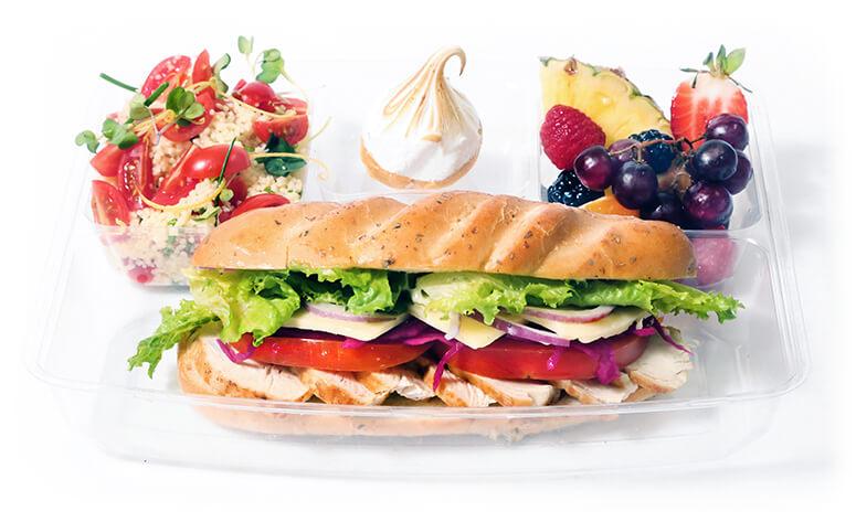assiette sandwich