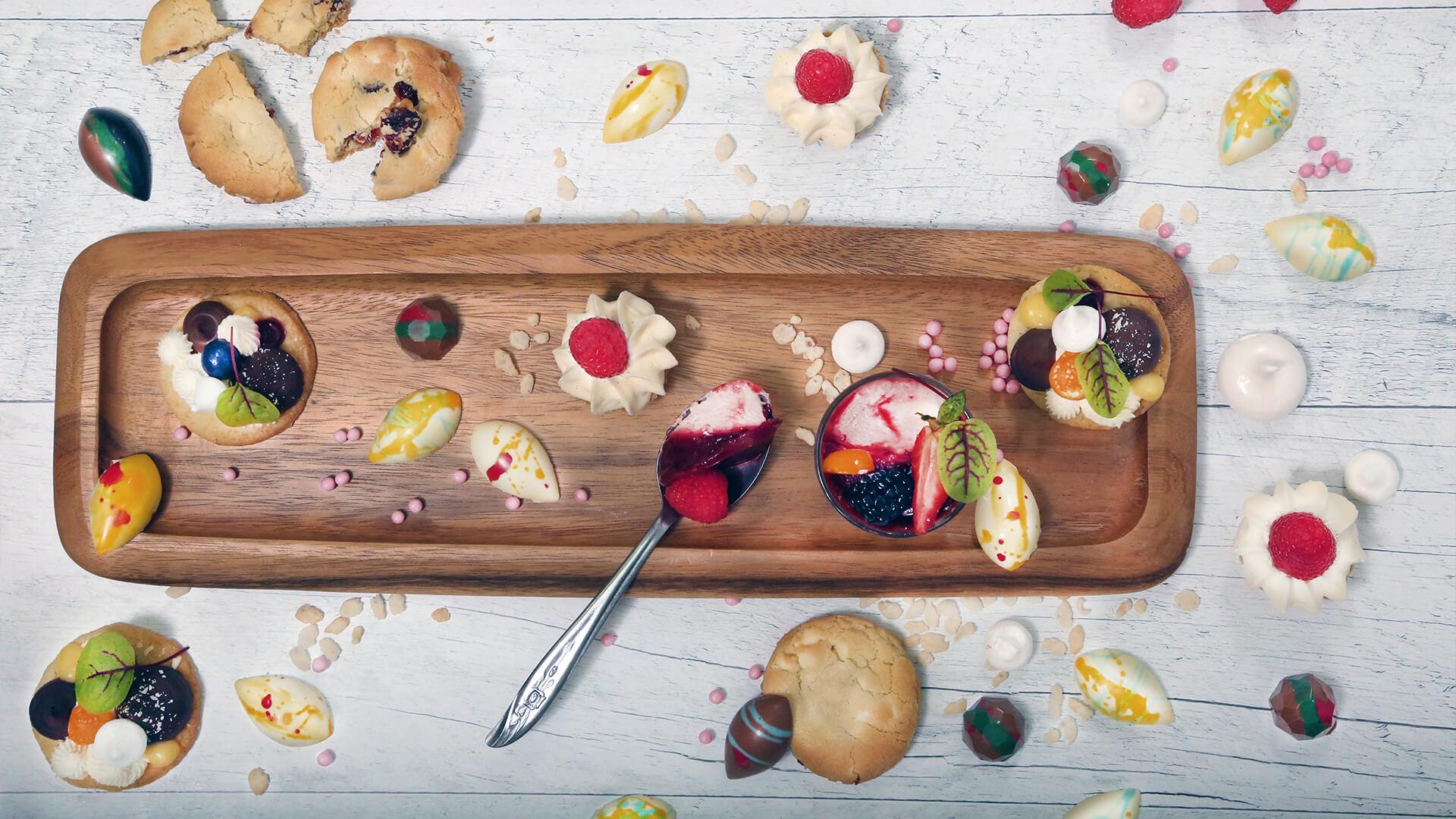 plateau de desserts
