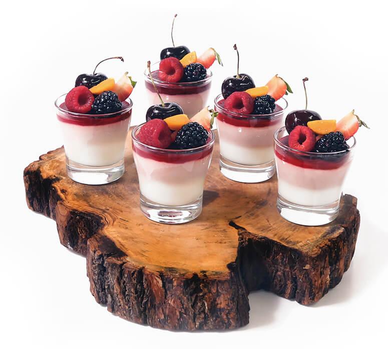 coupes dessert