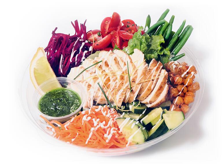 boite à lunch salade traiteur